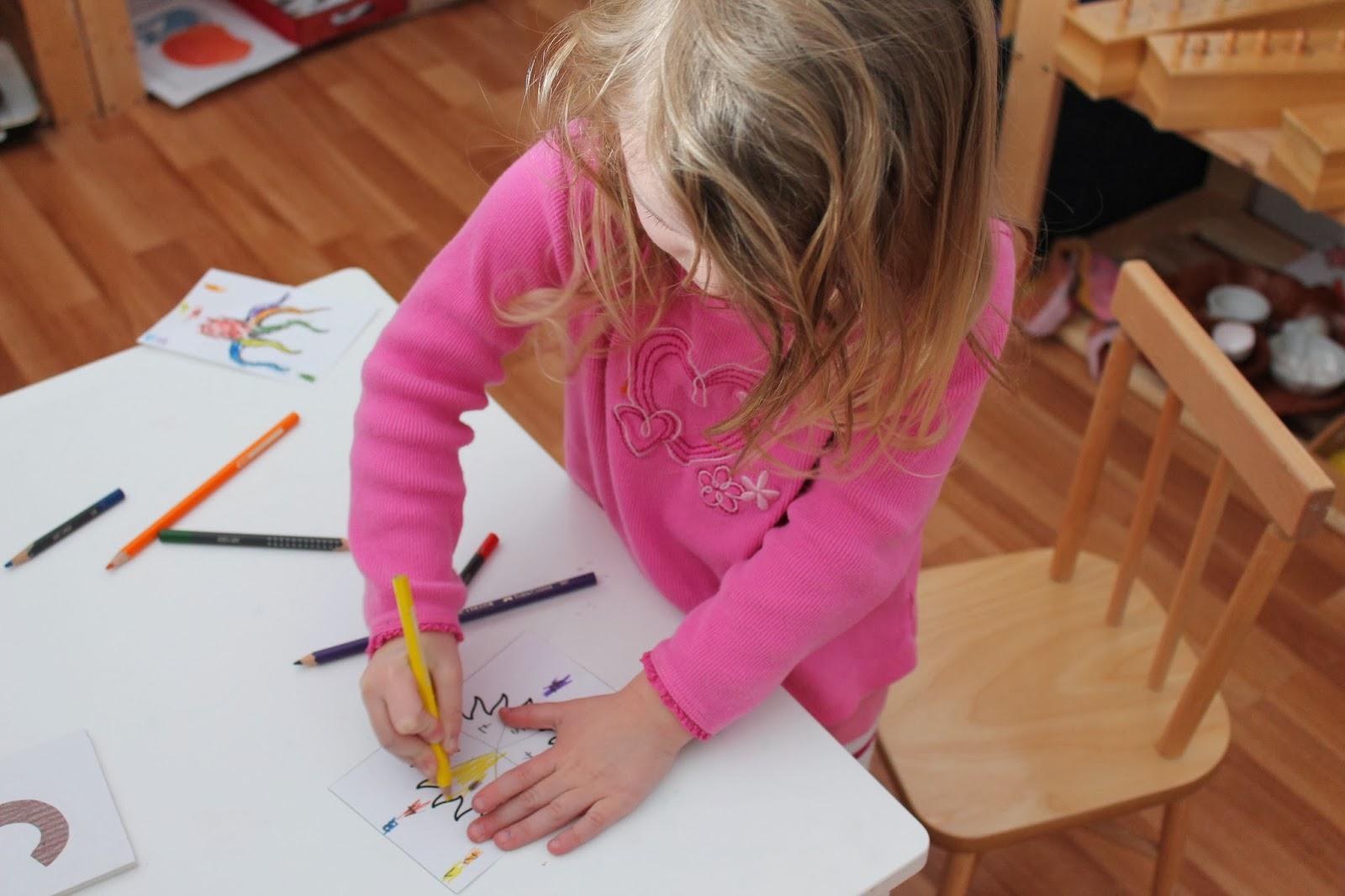 Cahier de coloriages avec des hamsters et des chiffres  - coloriage avec des chiffres