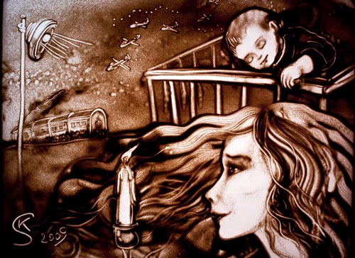 08-Dark-Night-Kseniya-Simonova-Drawing-with-Sand-www-designstack-co