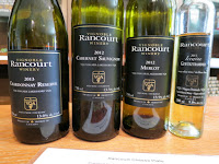 Rancourt wine lineup
