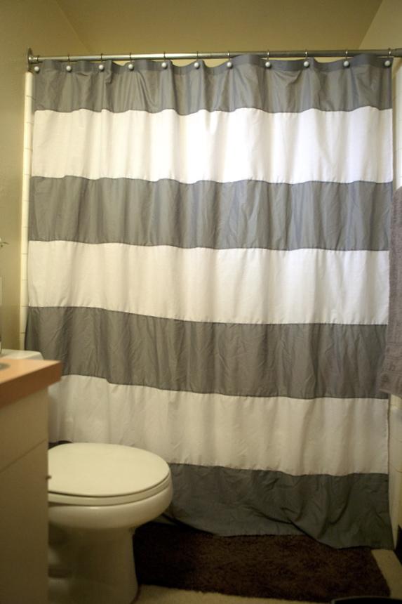 Cola cola west elm inspired shower curtain - Bathroom coca cola shower curtain ...
