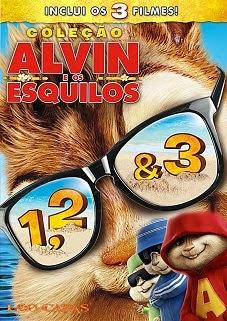 Trilogia Filme Alvin e os Esquilos Dublado