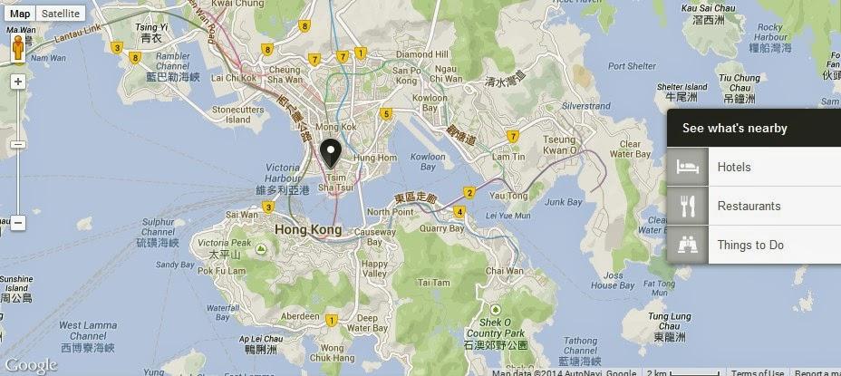 hong kong disneyland guide map