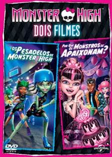 Download Monster High Dois Filmes Dublado AVI + RMVB DVDRip + Torrent   Baixar Torrent