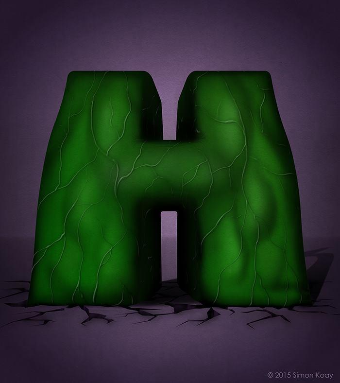 H for Hulk