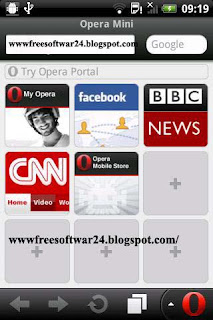 Opera Mini Web Browser V7.5 Apk