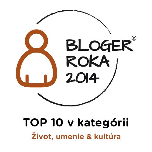 Bloger roka 2014 - 4. miesto