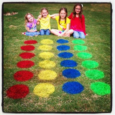 Spray Paint Twister - Backyard Fun