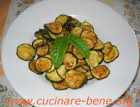ricetta zucchine alla poverella