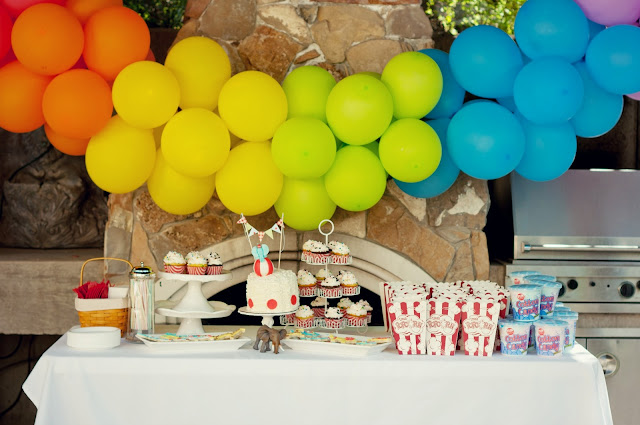 Mini Piccolini - Circus Birthday Party