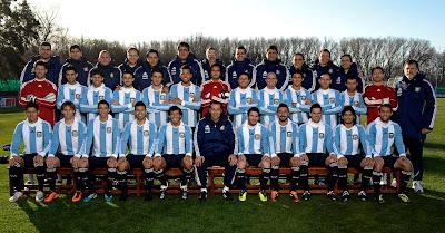 foto seleccion argentina copa america 2011