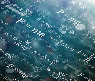 科学的な数式の背景 Scientific formulas backgrounds イラスト素材3