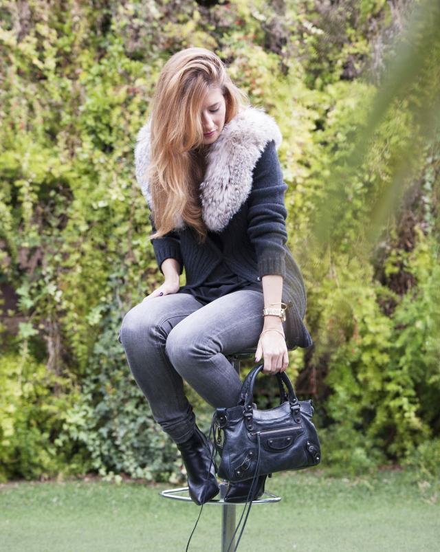 Look en gris y negro A trendy life