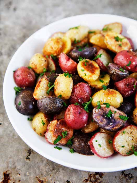 "... Rouge Mommy: What's With Dinner? ""Roasted Rosemary Baby Potatoes"
