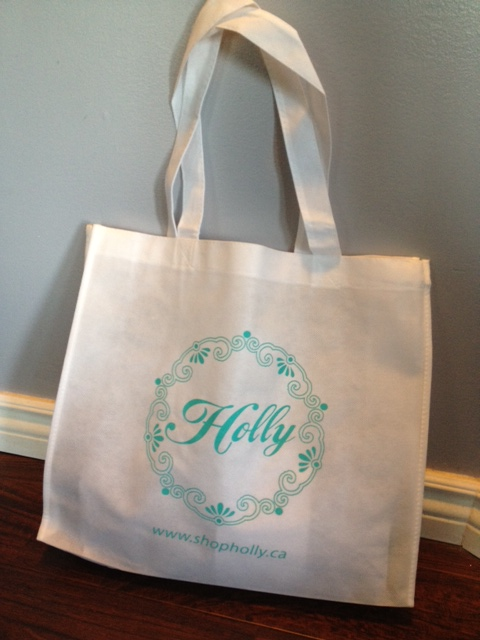 Holly Boutique shopping bag
