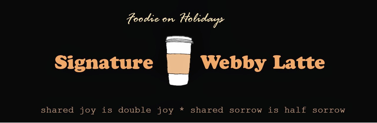 Signature Webby Latte