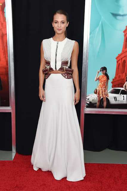 Actress @ Alicia Vikander - New York premiere of 'The Man From U.N.C.L.E.'