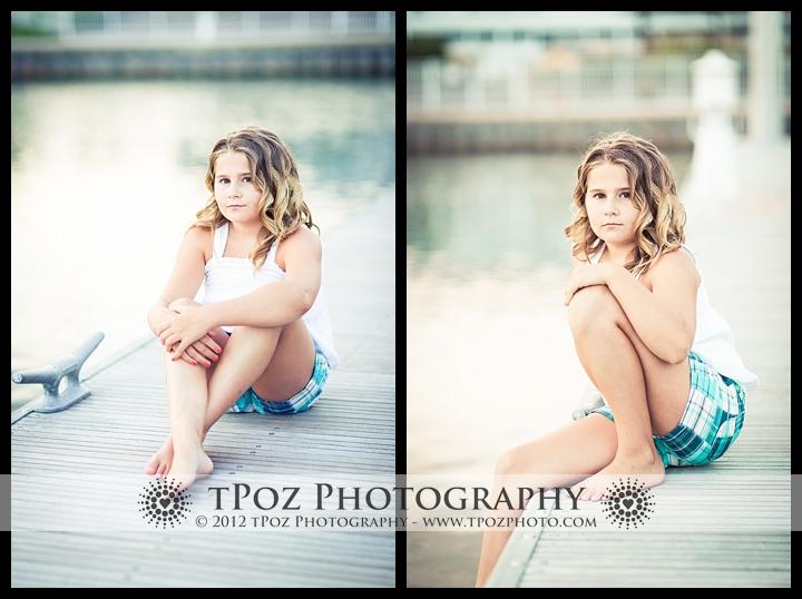 Chesapeake Bay Beach Club Child Portrait