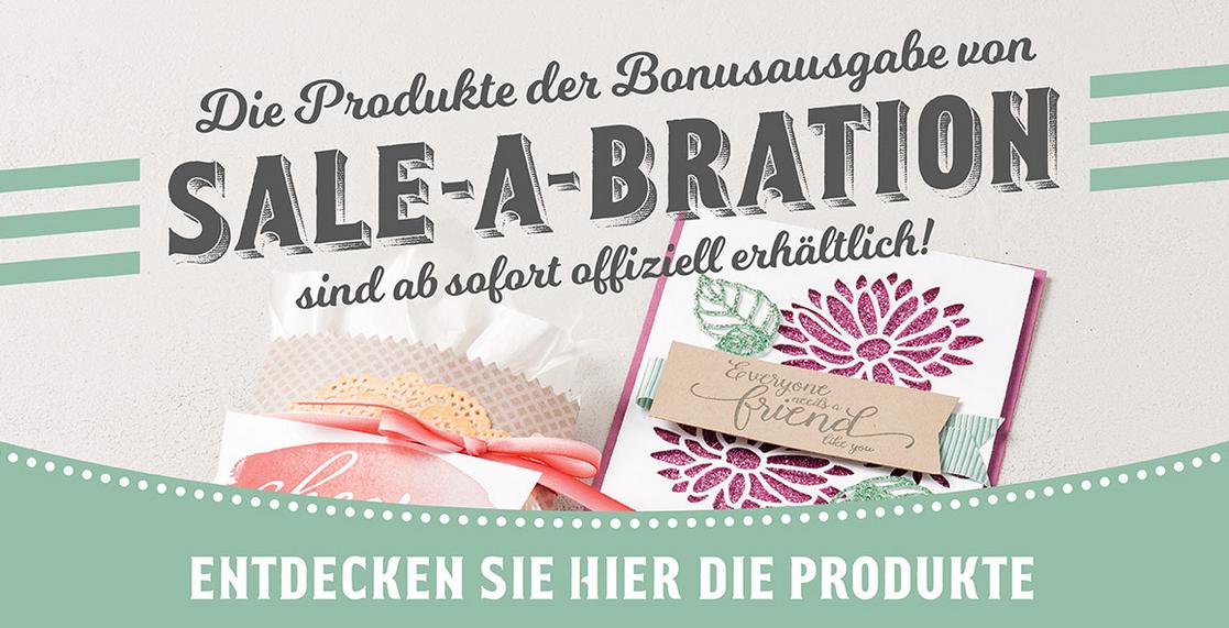 noch mehr Sale-A-Bration Gratis-Artikel!