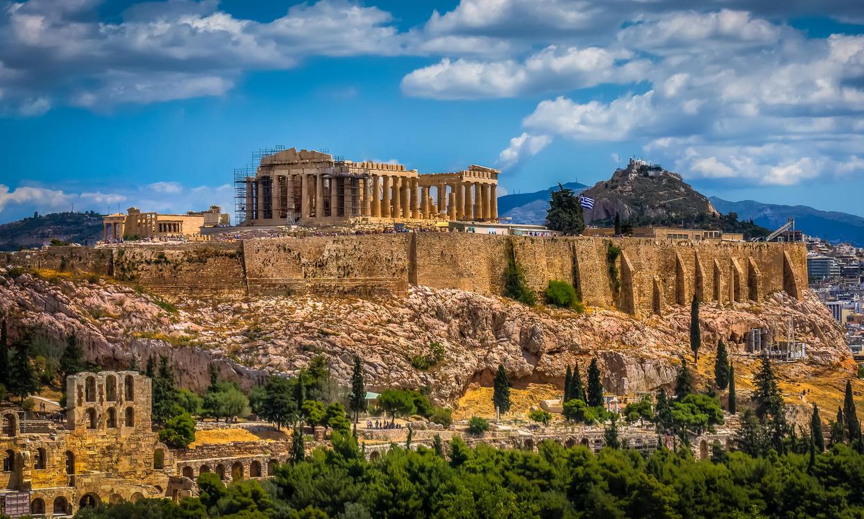 Acropolis Of Athens!