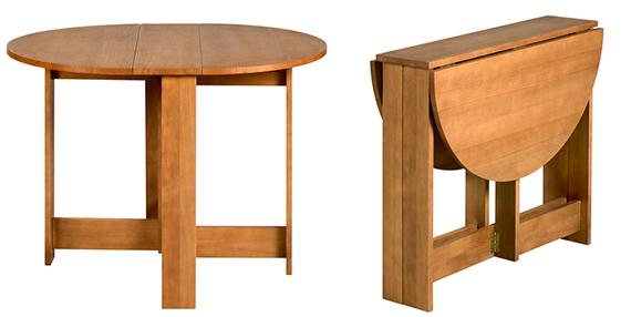 Artesanato Feltro ~ Mesas dobráveis que economizam espaço, e dicas de onde