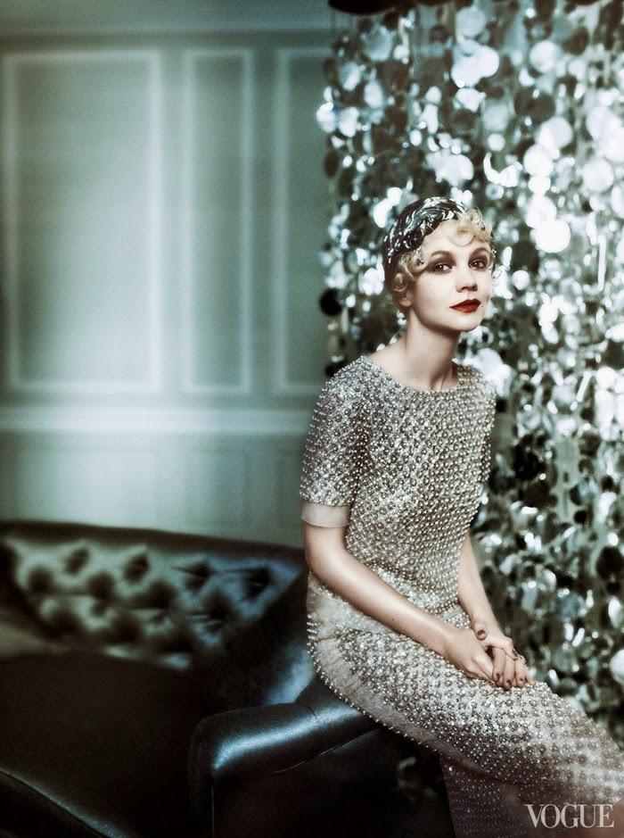 abito argento stile vintage
