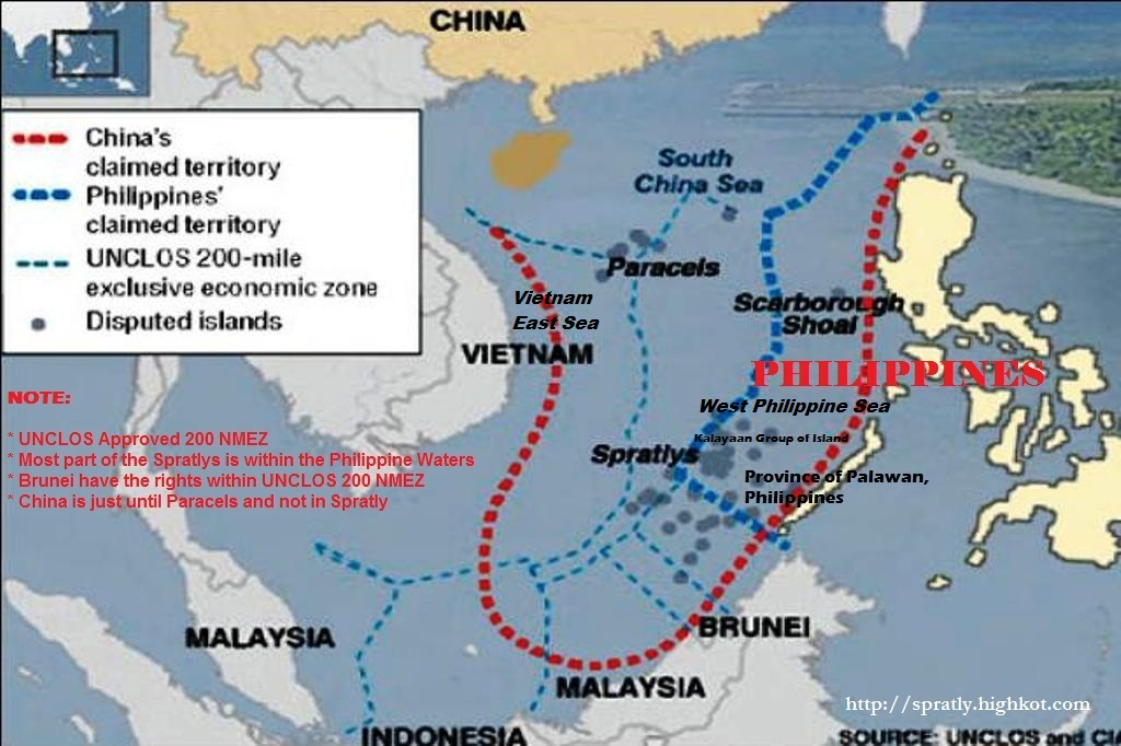 the spratlys pf the philippines Beijing says its right to the area goes back centuries to when the paracel and spratly island chains were regarded china and the philippines engaged in a.