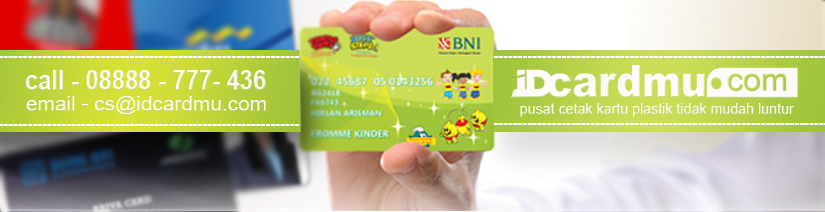IDcardmu.com - Tempat Cetak Member Card Murah Seperti Kartu ATM - Siap Kirim Ke Seluruh Indonesia