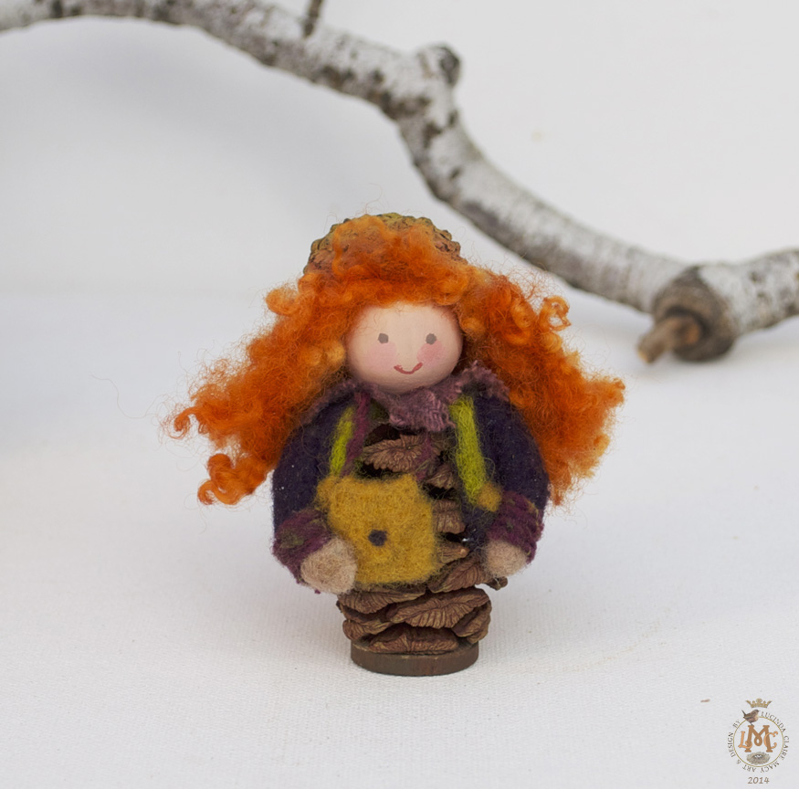 Ginger hair Sequoia gnome