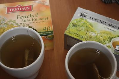 Fenchel anis kummel tee
