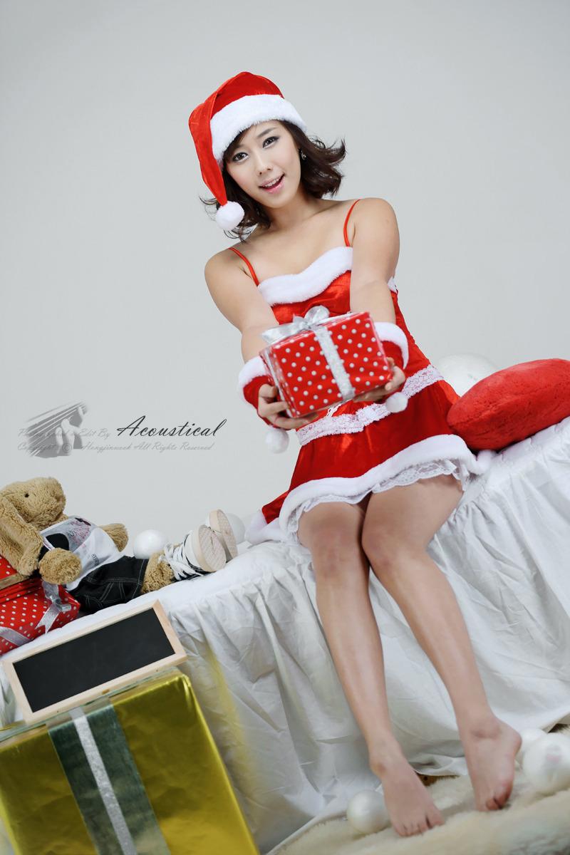Santa Kim Ha Yul - Merry Christmas To All | Korean Models Photos ...