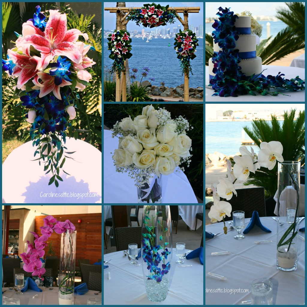 Caroline\'s Attic: San Diego Bali Hai Wedding