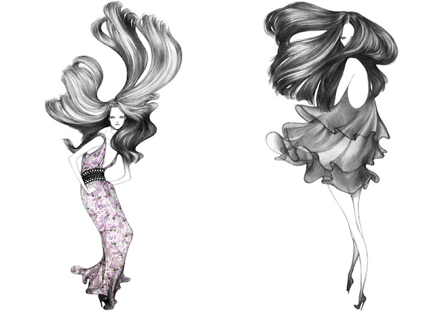 fashion illustrations,fashion,fashion blog,laura laine,laura laine illustrations,laura laine art,@limitlessfashion.blogspot.com