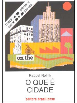 livro raquel rolnik pdf