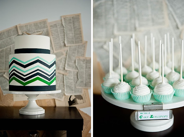 Green and Blue Wedding Inspiration