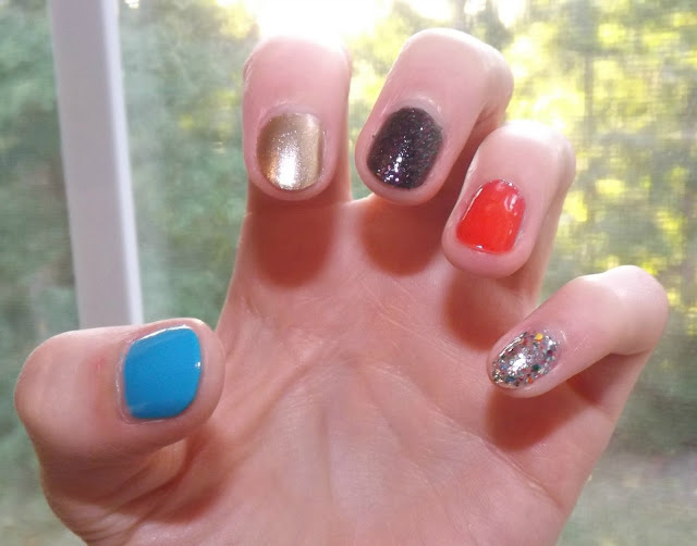 Perfectly Polished 12 New Year S Eve Nail Art