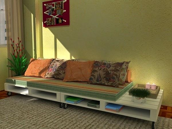 Bien-aimé HOME & GARDEN: 70 (nouvelles) idées pour recycler des palettes GP56