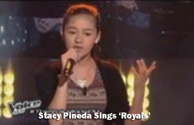 Stacy Pineda Sings Royals on The Voice Kids Blind Audition