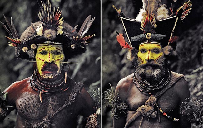 46 Must See Stunning Portraits Of The World's Remotest Tribes Before They Pass Away - Huli, Indonesia and Papua New Guinea