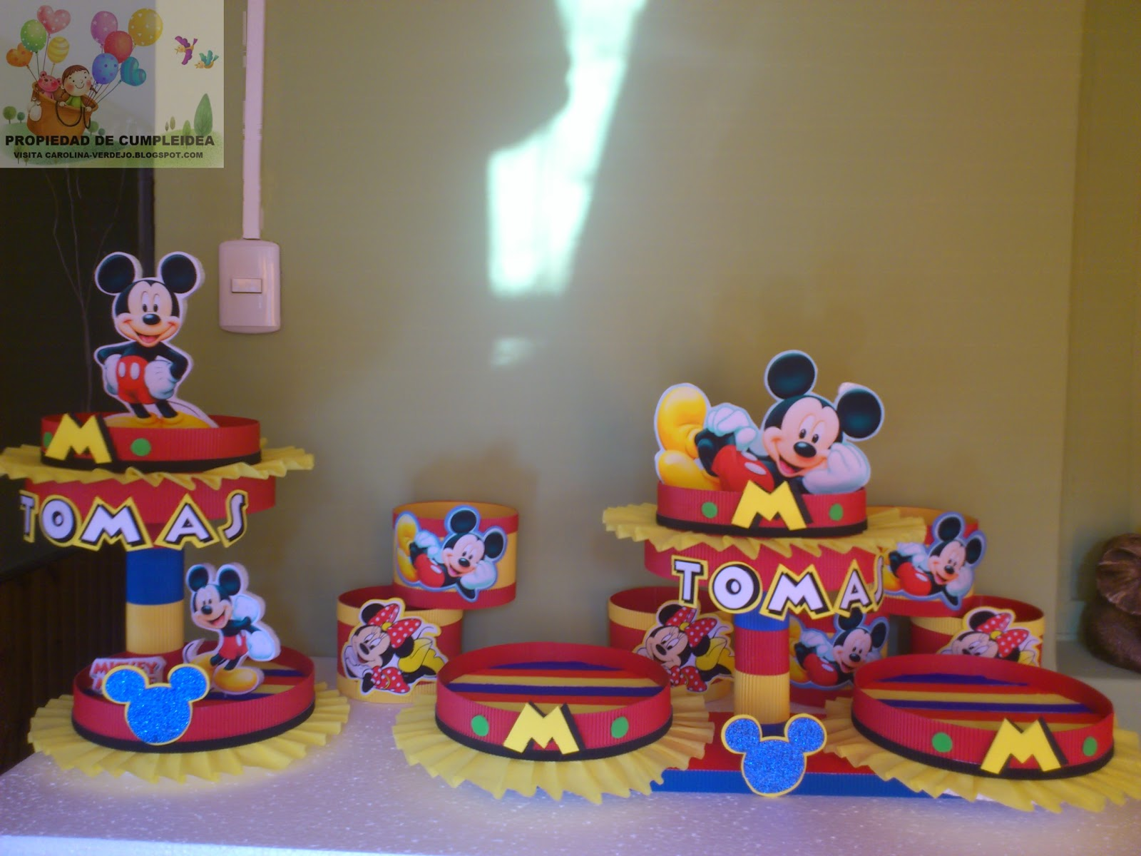 Mickey Mouse Decoracion Fiesta ~ Decoraciones De Mickey Mouse En Pinterest Fiestas Mickey  MEJOR