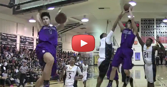 Kobe Paras Game Highlights Against Bishop Montgomery (VIDEO)