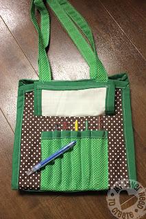 Appliqued Travel Marker/Art Bags