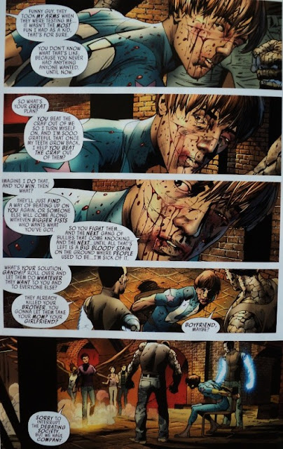 America's Got Powers # 4 - Jonathan Ross Bryan Hitch