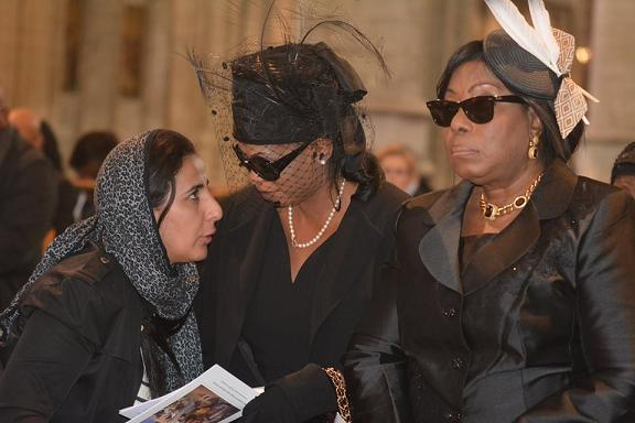 Photos from Nigerian Billionaire Antonio Dehinde Fernandez's burial