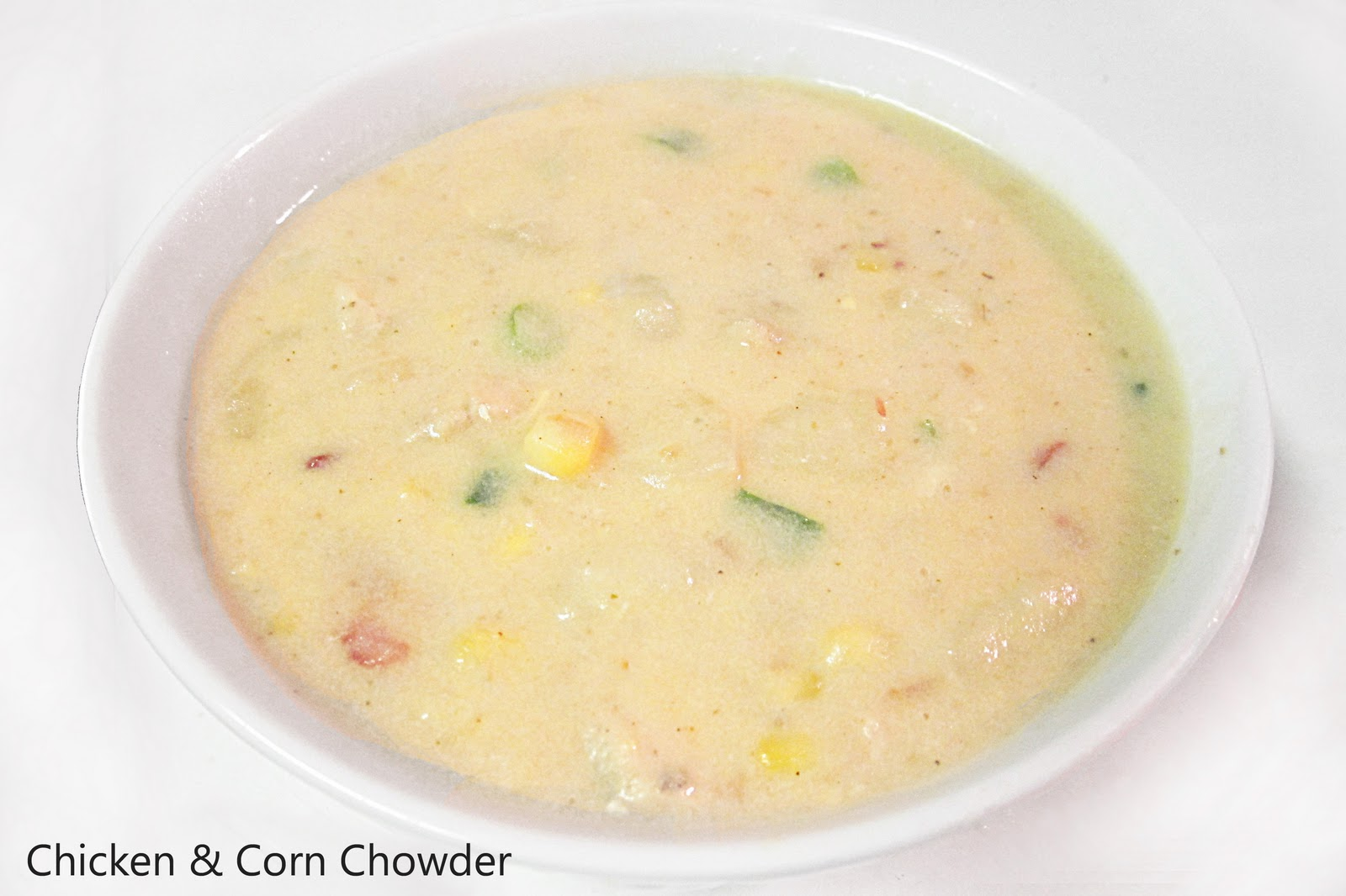 Diddles and Dumplings: Chicken & Corn Chowder