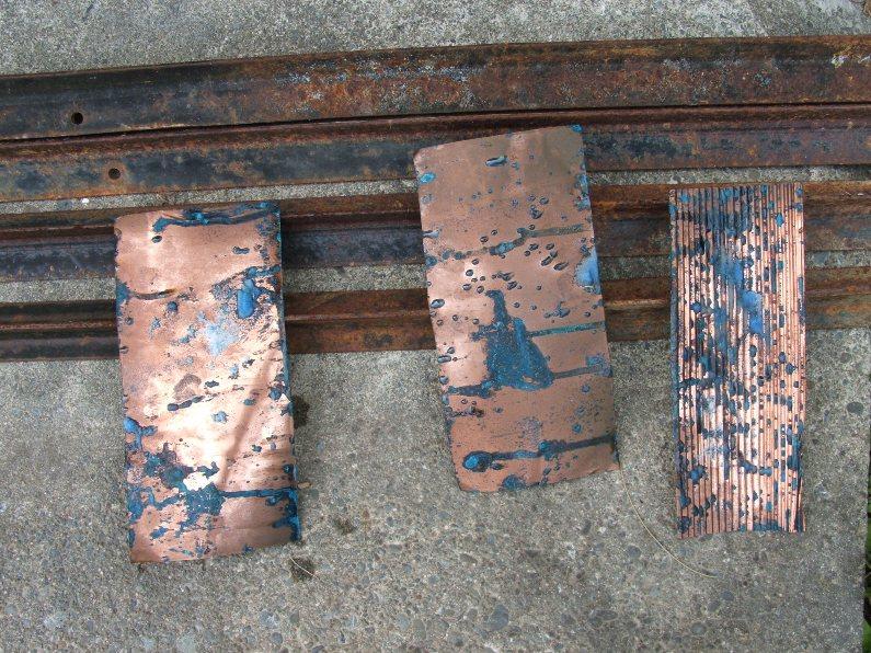 SandraHallSmocking: Copper sheet