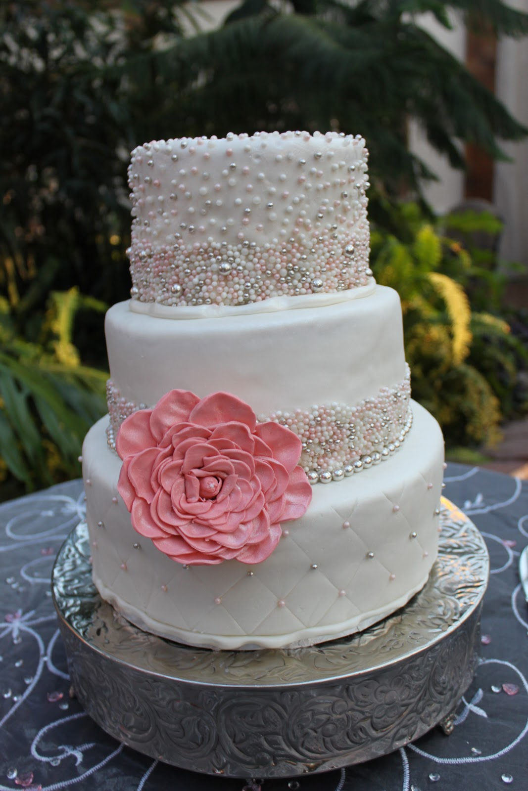 Victoria s Piece A Cake Summer Fall Wedding Cakes