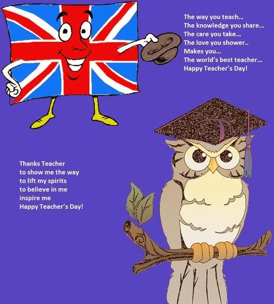 Поздравление с днем рождения на английском языке учителю английского языка