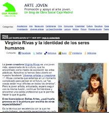 """Entrevista para el Blog de la Obra Social Caja Madrid """"Arte Joven"""". Abril 2011."""