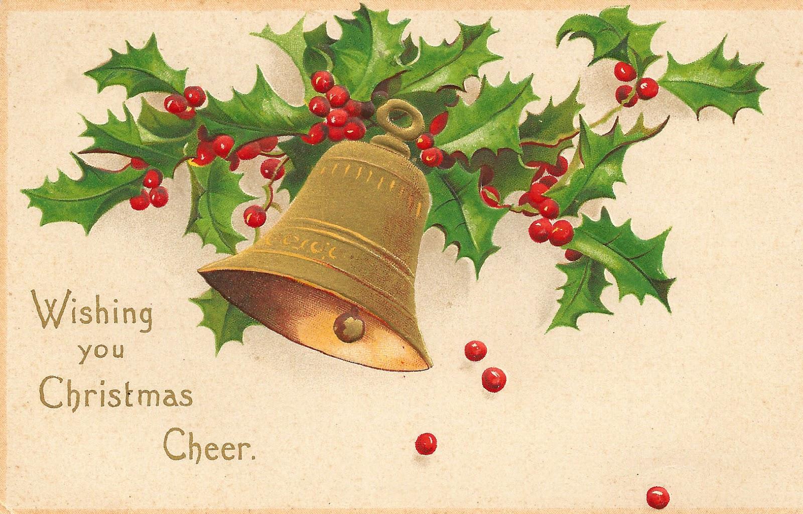 Vintage christmas clip art free