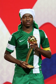 Kelechi Nwakali - Golden Ball award winner